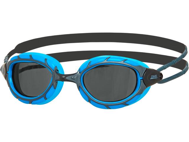 Zoggs Predator Goggles, blue/black/smoke